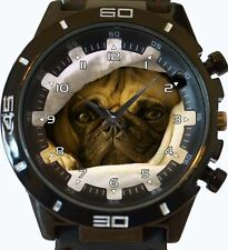 Pug Hiding New Gt Series Sports Unisex Gift Watch
