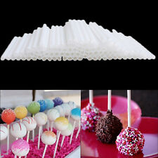 100x Pop Food Sucker Sticks Chocolate Cake Lollipop Sweet Candy Making CC NEW