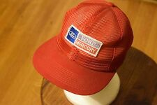 Ford Mercury Red All Mesh Trucker Hat with Patch Snap Back