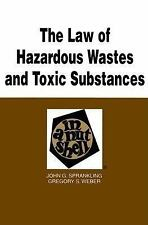 The Law of Hazardous Wastes and Toxic Substances in a Nutshell (Nutshell Series)