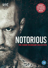 Conor McGregor - NOTORIOUS Collection | NEW DVD - BOXSET EXCLUSIVE - FREE POSTER