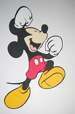 Mickey Mouse Jumping Die Cut Paper Piecing Scrapbook Embellishment