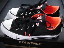 womens NEW Converse CTAS Madison canvas ox sneakers size 5.5 black/lava