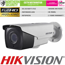 HIKVISION 2.4MP 1080P HD-TVI TURBO 2.8-12mm MOTORIZED LENS CCTV SECURITY CAMERA