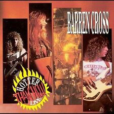 Barren Cross - Hotter Than Hell! Live - 1990 Medusa NEW