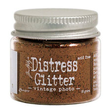 Tim Holtz   Distress Glitter 18gm jar  VINTAGE PHOTO Brown