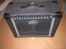 """Peavey Backstage Chorus 208 Combo Guitar Amp 2x8"""" 2CH 1980's 50W US Made Mint"""
