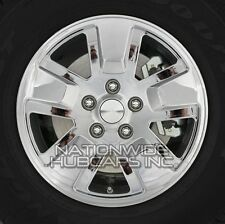 "4 CHROME 08-13 Jeep Liberty 16"" Wheel Skins Hub Cap Tire Covers 5 Lug Alloy Rim"