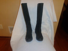 Timberland Earthkeepers Black Leather Knee High Riding Boots Women's 9 M