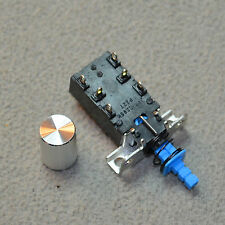 Power Switch + Aluminum Button for Marantz 4xxx & 22xx Series Receivers - SALE!!