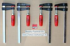 4x Bessey-Schraubzwingen LM20/5 200x50, Sonderposten, Schnäppchen, Zwingenpaket