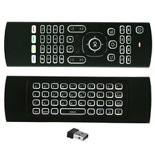 2.4GHz Wireless Fly Air Mouse Keyboard Remote For Android Smart TV Box MX3 Mini