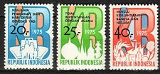 Indonesia - 1975 Family planning - Mi. 823-25 MNH