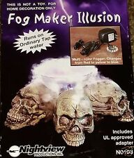 FOG MAKER ILLUSION UNIT, LIGHT UP CHANGING LIGHT FOG ILLUSION HALLOWEEN