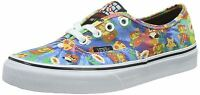 Vans Authentic Nintendo Super Mario Canvas Trainers Shoes