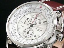 Seiko Men's Pilots Chronograph 100m Watch SNAB71P1 Warranty, Box, RRP:£330