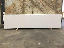 """Countertop Granite Engineered Quartz Prefab 108""""X26""""X3/4"""" Pure White (Copastones"""
