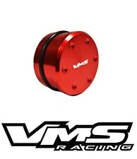 VMS RACING 2004-2010 GM 6.6 LLY LBZ LMM DURAMAX RESONATOR DELETE PLUG BLOCK RED
