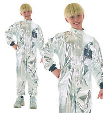 Childrens Kids Astronaut Fancy Dress Costume Space Spaceman Outfit L
