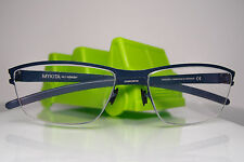 Mykita NO.1 Karsten Frames for Eyeglasses Navy Blue Stainless Steel 58[]15 140