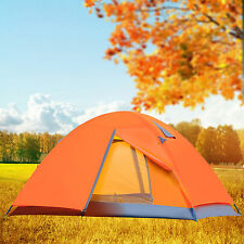 Clearance 2 Man Camping Hiking Climbing Backpacking Tent w/ Rainfly Double Layer
