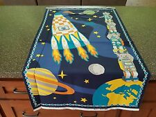 Atomic Bots Panel Silvia Dekker Wilmington Rocket Star Robot Spaceship 23x44