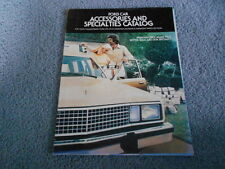1978 FORD CAR ACCESSORIES and SPECIALTIES CATALOG for THUNDERBIRD PINTO MUSTANG
