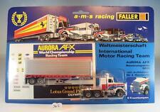 Faller AMS 5629 Aurora AFX Renntransporter US Truck mit Aufklebern OVP #365