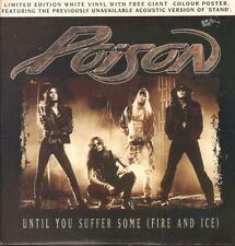 "Poison(12"" Vinyl)Until You Suffer Some (Fire And Ice)-Capitol-12CLP 685-Ex/NM"