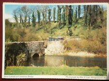 POSTCARD LONDON CONKSBURY BRIDGE - THE RIVER LATHKILL