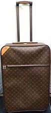 LOUIS VUITTON Monogram Pegase 70 Travel Rolling Wheels Suitcase Luggage