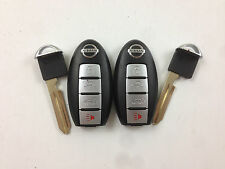LOT OF 2 NISSAN MURANO 09-14 OEM SMART KEY LESS ENTRY REMOTE POWER GATE UNCUT