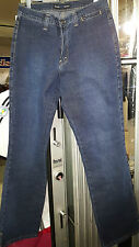 WOMENS IKEDA COLLECTION 700 SERIES STRETCH 88% COTTON BLUE JEANS  31x33 NWT