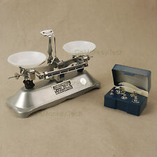 100 Gram Mechanical Table Balance Scale 0.1g & 5PCS Precision Calibration Scale
