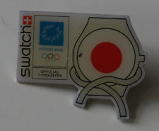 Badge pin for collectors olympic Swatch Athens 2004