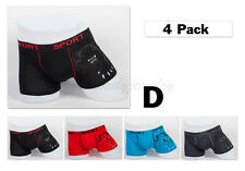 4 Size XS 26-28 Stretchable Trunk Short Cotton Mens Boxer Briefs Underwear Tiger