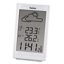 Radio Controlled Wireless Weather Station Alarm Clock Indoor Outdoor Temp EWS880