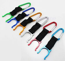 Outdoor Hiking Camping Water Bottle Holder Hook Snap Buckle Key Clip Carabiner