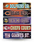 NFL Football Street Sign 3.75