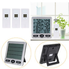 Ambient Weather Meter WS-10 Wireless Outdoor +Indoor 8-Channel Thermo-Hygrometer
