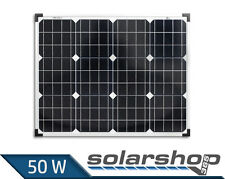 Solarmodul 50W Monokristallin Solarpanel 50 Watt Solarzelle TÜV Mono 12V