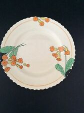 """Burleigh Ware Zenith Shape Small 7"""" Bread Salad Side Plate Meadowland Pattern"""