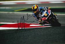 Hector Barbera Hand Signed 12x8 Photo Avintia Racing Ducati 2016 MOTOGP 8.