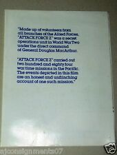 ATTACK FORCE Z {Mel Gibson} Original Movie Programs/Poster 80s