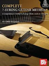 COMPLETE 7-STRING GUITAR METHOD LESSON BOOK NEW