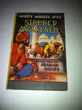 WW2 Mighty Midgets Book Premium No 42 Sleeper Awakened Arabian Nights Zubes Ad