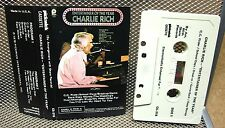 CHARLIE RICH Entertainer of the Year cassette tape 1976 country pop CC Rider
