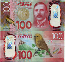 """2016 $100 NEW GEM UNC ""New Zealand note"" - ""Latest issue & Design"""