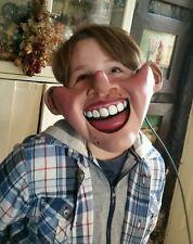 ventriloquist pinnochio puppet half mask