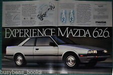 1984 MAZDA 626 2-page advertisement, Mazda 626 Sport Coupe